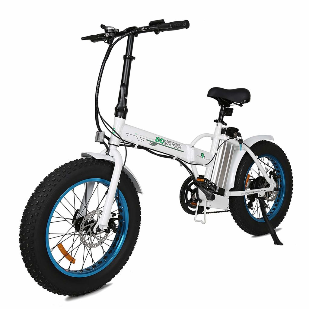 ECOTRIC 20 New Fat Tire Folding Electric Bike