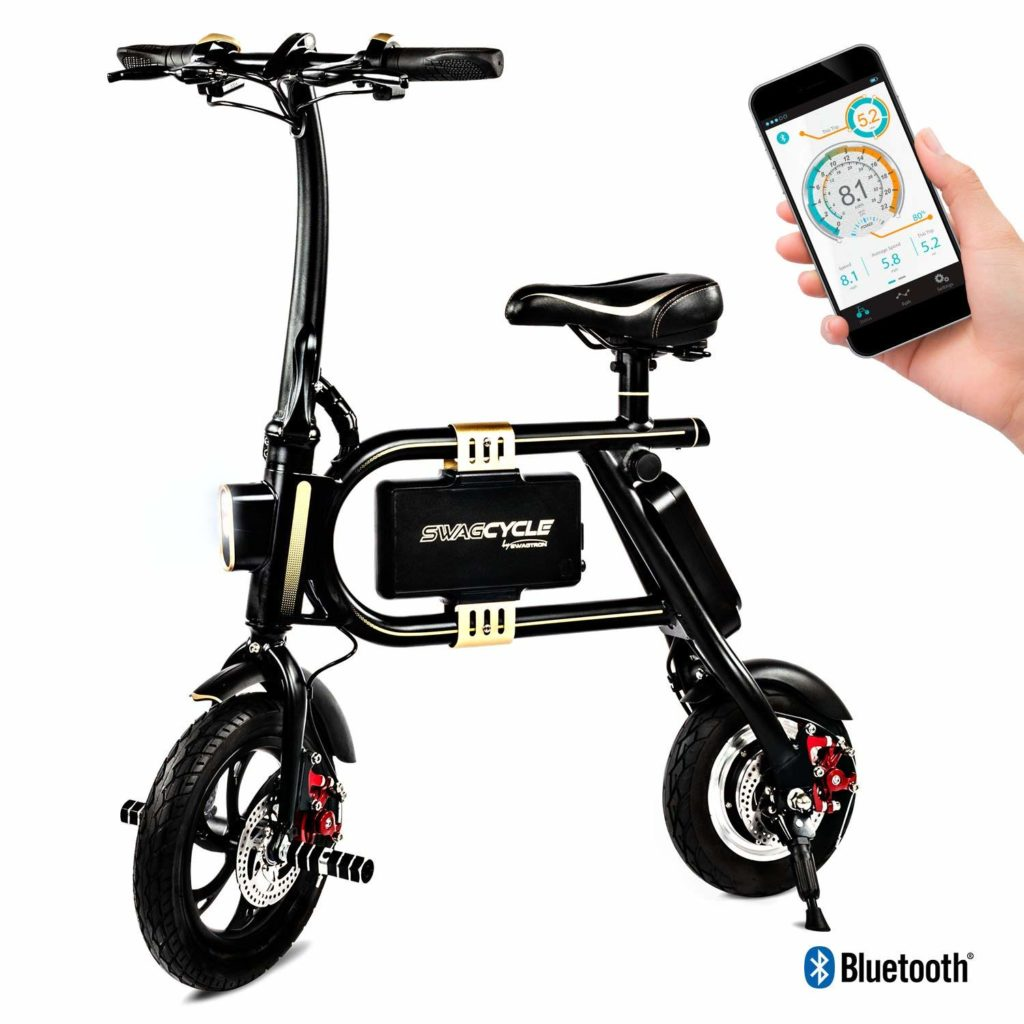 Swagtron SwagCycle Classic E-Bike Folding Electric Bicycle
