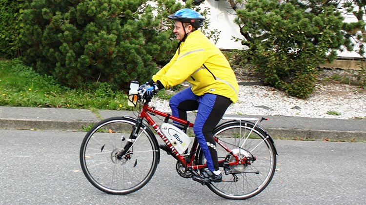 electric bike weight loss